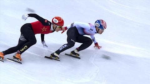 500 м, полуфинал 2, мужчины - шорт-трек | Пхенчхан-2018