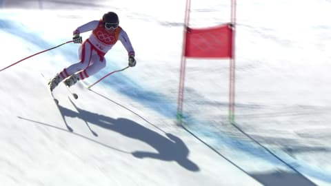 Men's Super-G - Alpine Skiing | PyeongChang 2018 Highlights