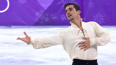 Javier Fernandez connects flamenco and figure skating