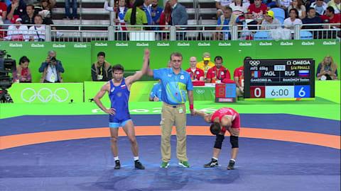 سوسلان رامونوف (روسيا) يهزم ماندخناران غانزوريغ (منغوليا): 6-0