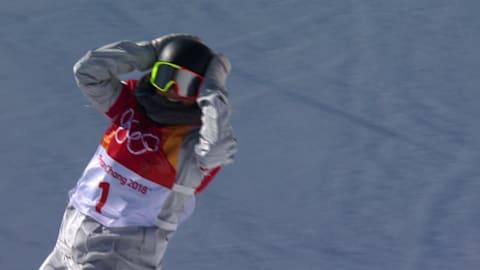 Encore un 1080 et finalement l'or pour Chloe Kim en halfpipe | Snowboard