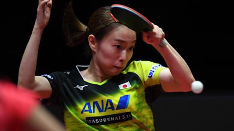 日本勢は水谷・平野・丹羽・石川が登場 卓球T2ダイヤモンドリーグ2日目