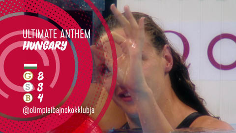 National anthem: The best of Hungary in Rio