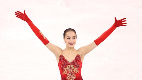 Alina Zagitova wins season opener with flawless free skate at Nebelhorn Trophy