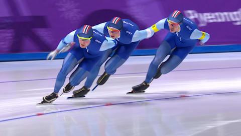 Men's Team Pursuit Final - Speed Skating | PyeongChang 2018 Replays