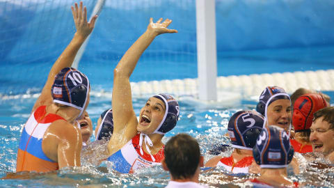 Top 10: Olympic water polo goals