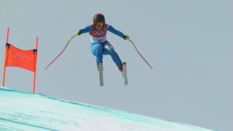 Goggia wins historic Women's Downhill Gold for Italy | Alpine Skiing