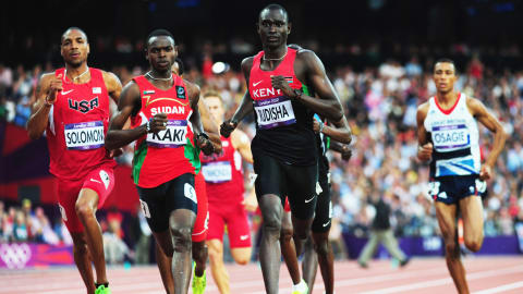 Unrivalled Rudisha sets 800m world record | London 2012 Replays