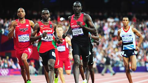 Repetición: el invencible Rudisha rompe el récord mundial en los 800 m