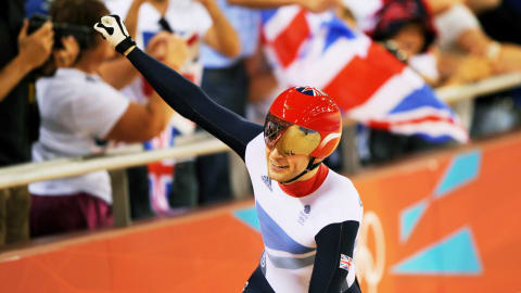Kenny cycling gold delights home crowd | London 2012 Replays