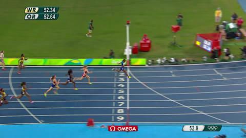 Muhammad rafle l'or sur 400 m haies