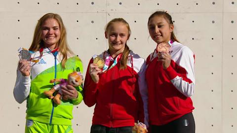 여자 리드 결승 - 스포츠 클라이밍 | YOG 2018 하이라이트