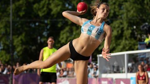 Damen Spiel um Gold - Beachhandball | Buenos Aires 2018 OJS
