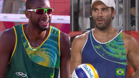 ¿Un futuro dorado para Bruno Schmidt y Evandro Goncalves?