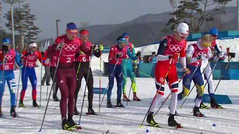 Men's Relay - Cross-Country Skiing | PyeongChang 2018 Replays