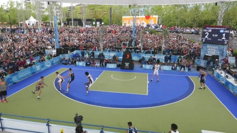 3x3 madness: Backstage at Argentina - USA