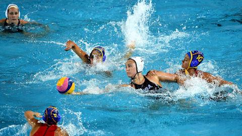 女子 - USA vs NED | 水球 - FINA世界選手権 - 光州
