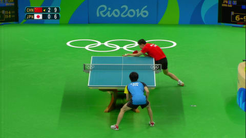China's table tennis team win gold