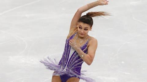 Sofia Samodurova stuns Alina Zagitova to win European Championships