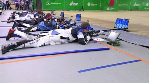Herren 50m Dreistellungskampf Finale | Schießen - Europaspiele - Minsk