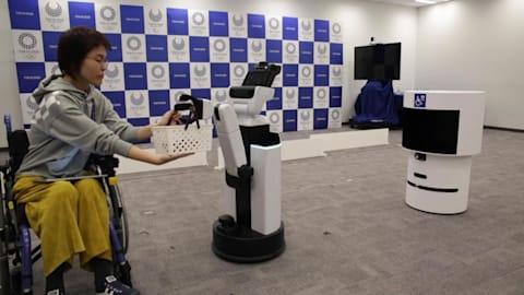 도쿄 2020, 올림픽 기간 방문객 도우미 로봇 공개