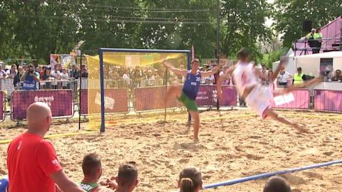 Preliminaries Day 2 - Beach Handball | YOG 2018 Highlights