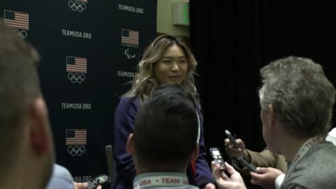 Chloe Kim hoping to compete in front of Korean relatives