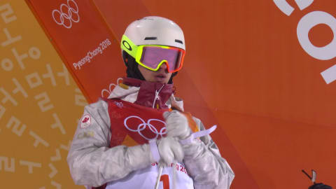 Huge score and Men's Moguls Gold for Mikael Kingsbury | Freestyle Skiing