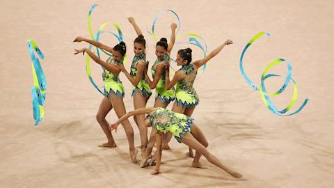 Rhythmic Gymnastics: Canta Brasil | Music Mondays