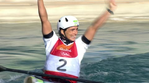 Spain's Chourraut takes gold in Women's Kayak