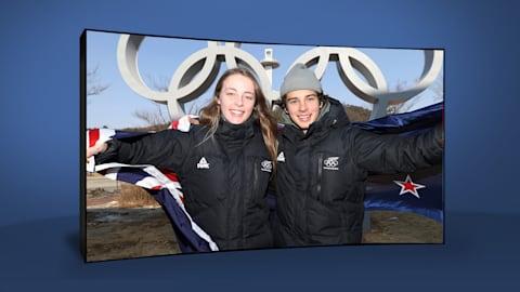 Nico Porteous & Zoi Sadowski Synnott | PyeongChang 2018 | Take the Mic
