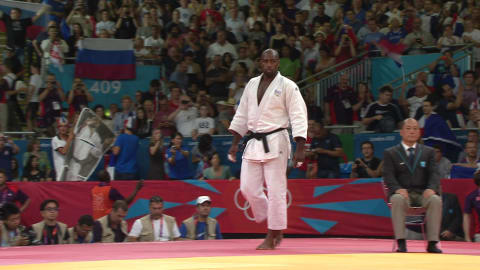 Judo @ London 2012 - Men's over 100Kg Gold medal match