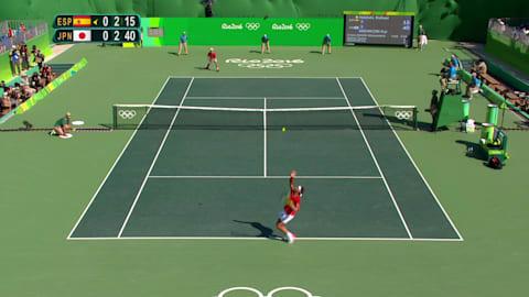 Japan's Nishikori takes Men's Tennis Singles bronze