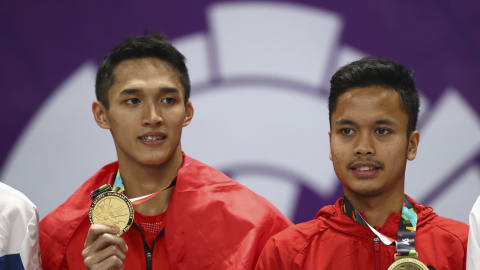 Anthony Ginting and Jonatan Christie out to top the class at Indonesia Open 2019