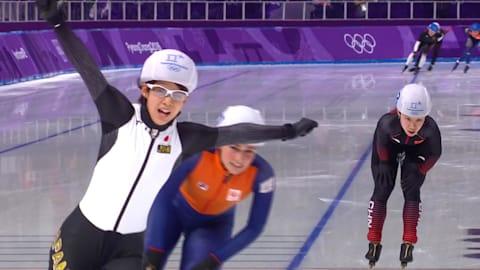 Women's Mass Start - Speed Skating   PyeongChang 2018 Highlights