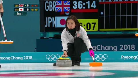 GBR v JPN (Round Robin) - Women's Curling | PyeongChang 2018 Replays