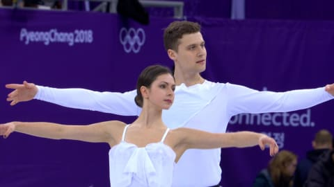 Zabiiako and Enbert (OAR) - 7th Place | Pairs Free Skating