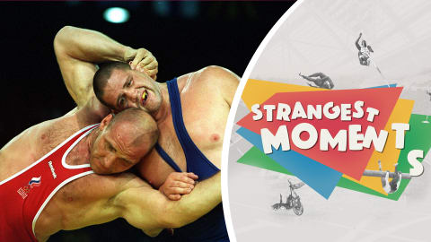 Hot favourite Karelin grapples with Gardner for gold