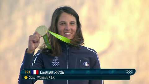 Picone wins Windsurfing gold