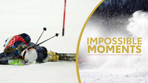 When Lindsey Vonn Thought She Broke Her Back | Impossible Moments