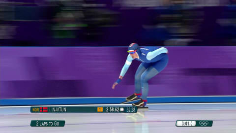 Women's 3000m - Speed Skating | PyeongChang 2018 Replays