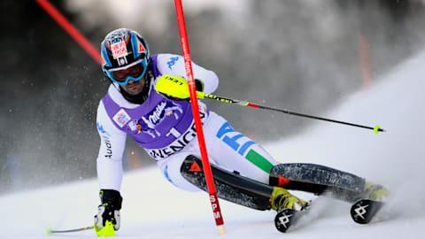 男子回转 - 第1滑   FIS 世界杯 - 翁根