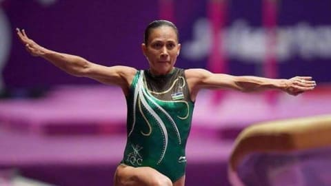 Gymnastics phenom Oksana Chusovitina still out to prove her mother wrong - at 43