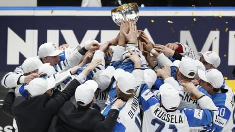 Finland clinch shock World Championships title over Canada