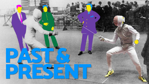 Past and Present - Fencing