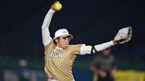 ソフトボール日本代表エース・上野由岐子が戦列復帰