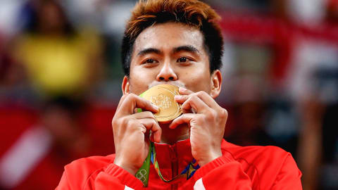 National anthem: The best of Indonesia in Rio