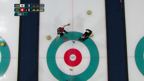 KOR v SUI (Poule) - Curling Hommes | Replay de PyeongChang