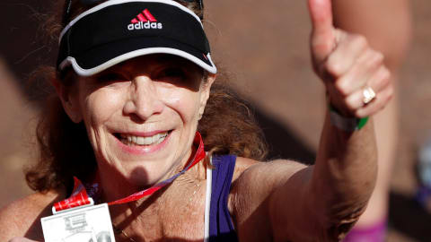 Boston marathon trailblazer Kathrine Switzer talks of her new push