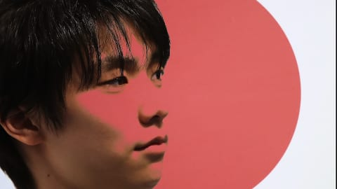 Yuzuru Hanyu happy to say nothing at all!